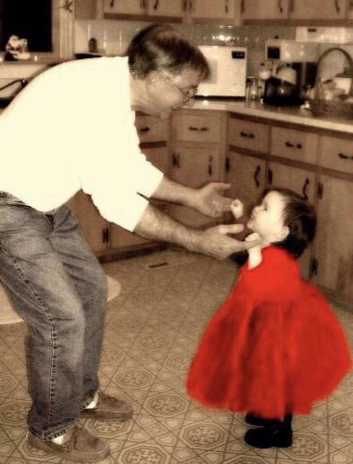 The bond between a father and a daughter is forever