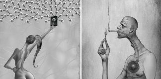 Genius Illustrations Reveal Everything Wrong With Today's Society