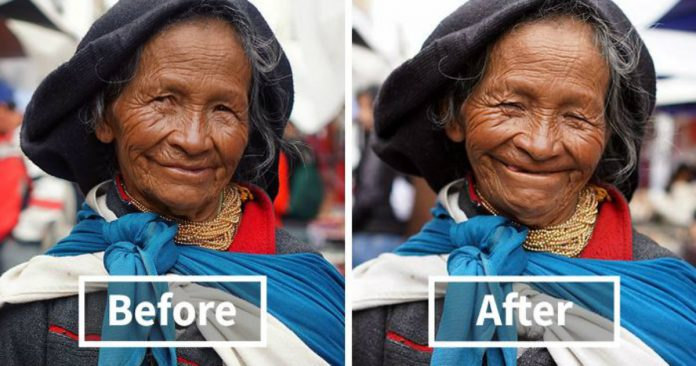 15+ Before & After Photos Of People Around The World Being Told They're Beautiful