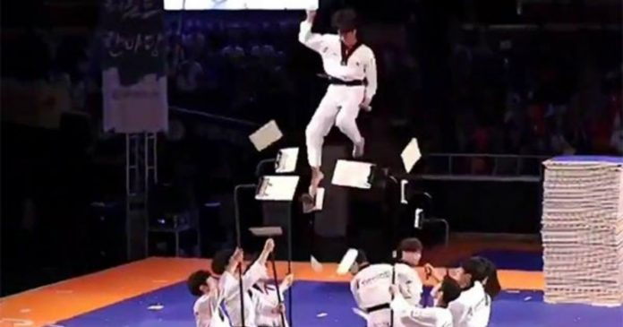 South Korean Taekwondo Team Impresses The World Of Internet With Their Incredible Martial Arts Skills