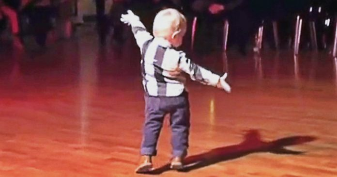 This Toddler Hears Favorite Song, Starts To Dance And Makes Hell Of A Show