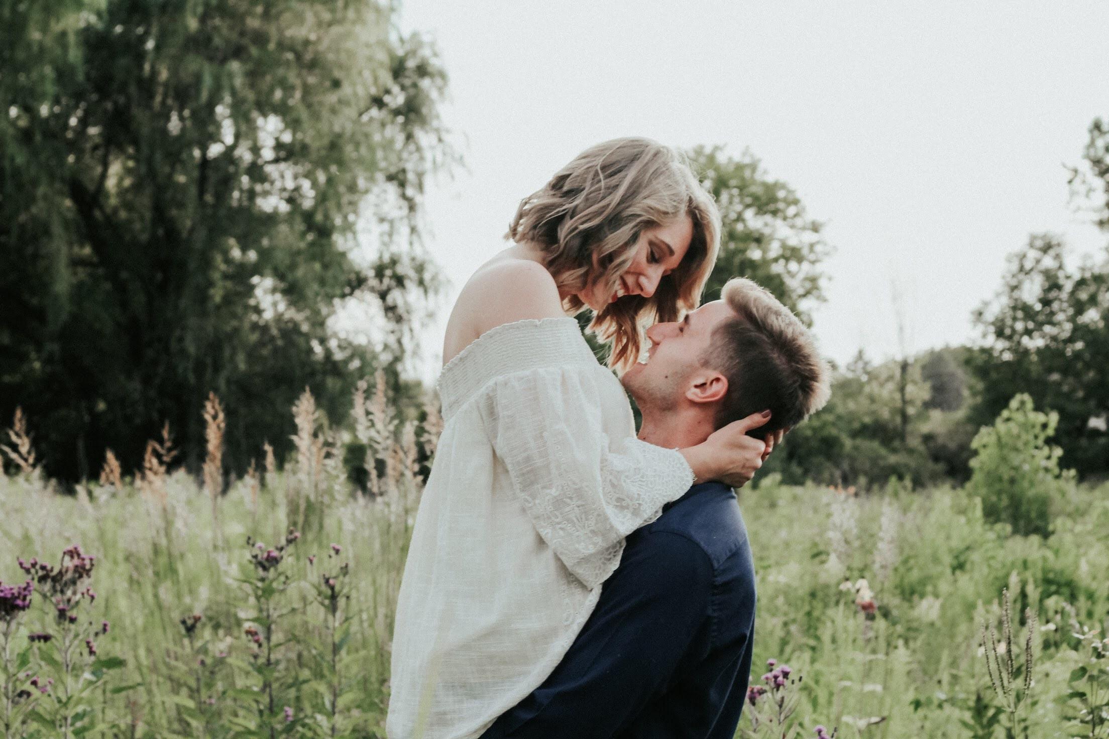 Hugs and eye contact
