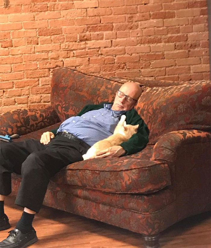 Terry and cat