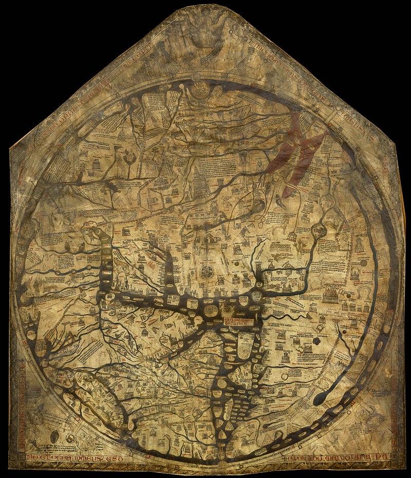 Hereford Mappa Mundi (world map)