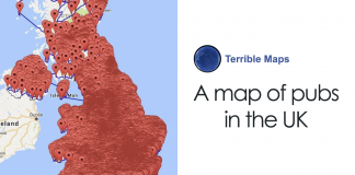 25+ Terrible Maps That Are So Bad They're Good