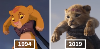 Somebody Compared The Lion King 2019 To The 1994 Animation Side By Side