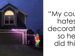24 Times People Were So Lazy To Decorate For Christmas, They Came Up With The Most Genius Ideas