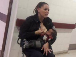 Hero Officer Steps in to Breastfeed Malnourished Baby in Police Custody
