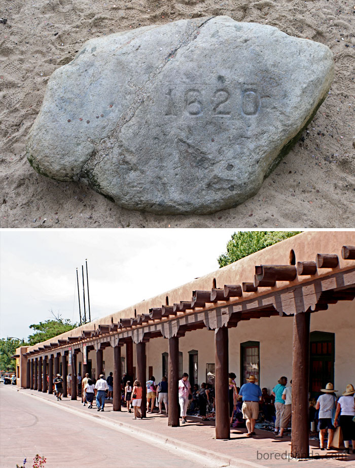 By The Time The Pilgrims Made It To Plymouth Rock, There Was A 'Palace Of The Governors' In New Mexico