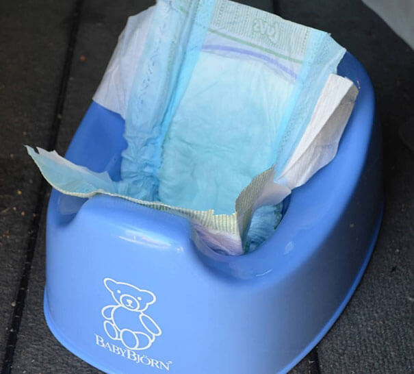 Keep A Cheap Potty Chair In Your Car Along With A Few Diapers