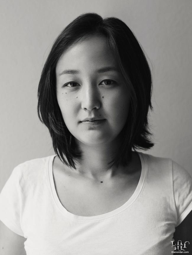 Korean, Ukrainian woman
