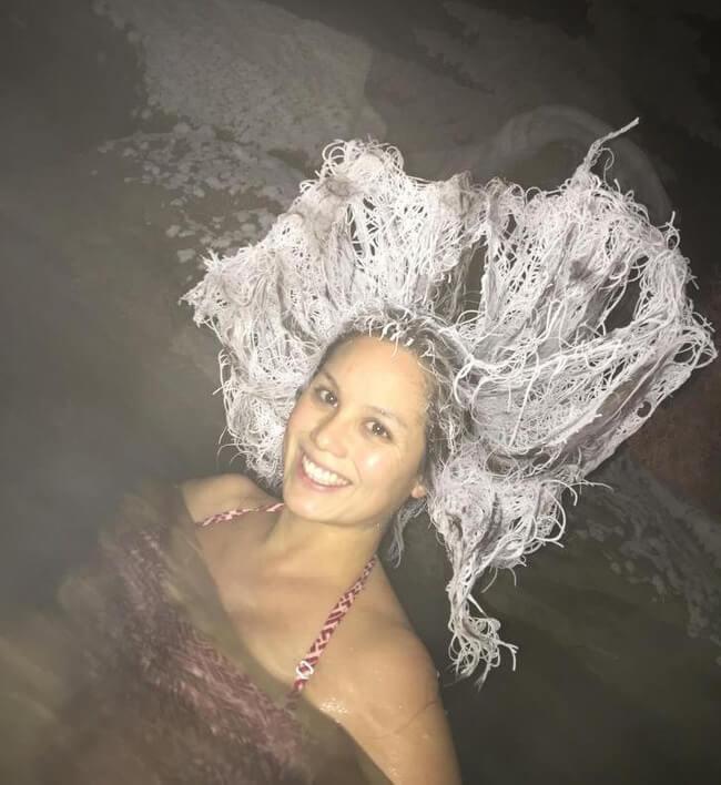 icey hair