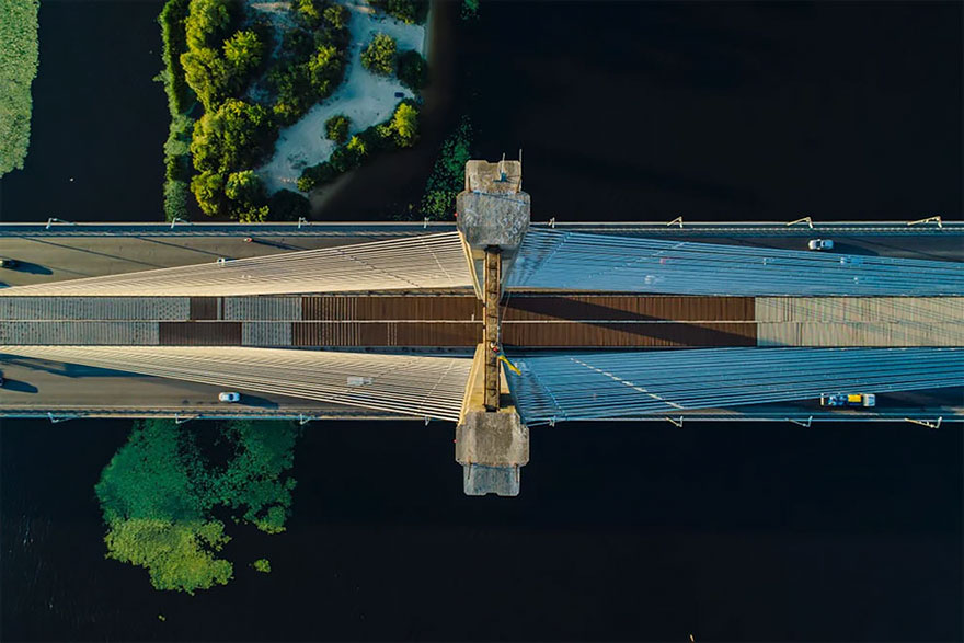 New Bridge In Ukraine