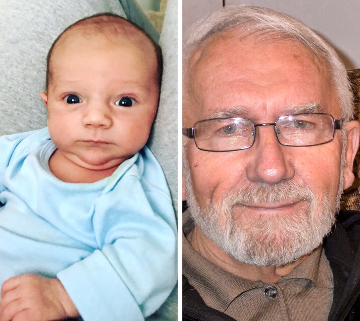 kid and grandfather