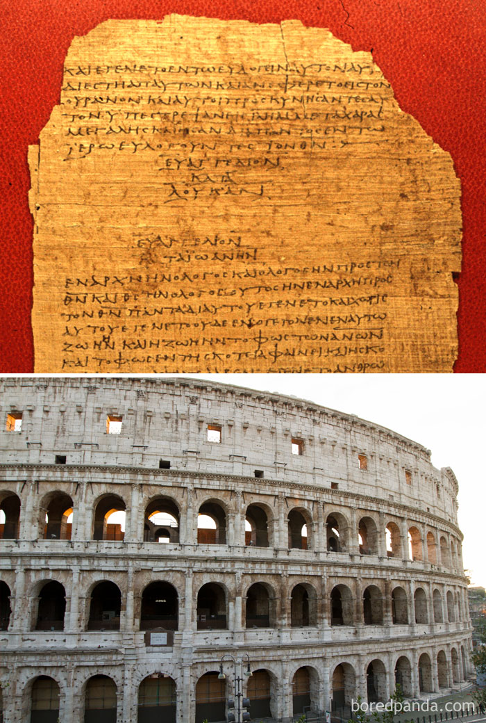 The Colosseum In Rome, Italy, Was Unveiled In 80 A.D., Around The Same Time The Gospel Of Luke And The Acts Of The Apostles In The Bible Were Written