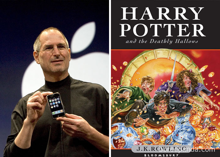 Harry Potter And The Deathly Hallows Was Published In The Summer Of 2007. The Same Summer First iPhone Model Was Released
