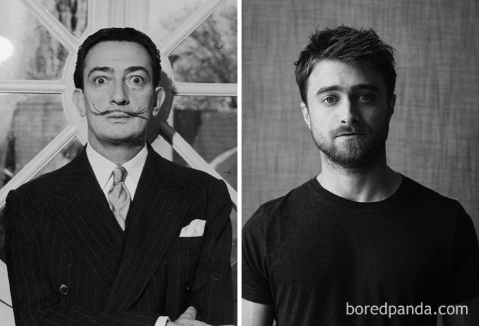 Spanish Surrealist Artist Salvador Dali Died In 1989, The Same Year Actor Daniel Radcliffe, Actress Hayden Panettiere And Houston Rapper Kirko Bangz Were Born