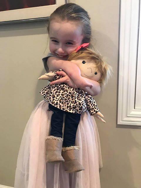 little girl doal