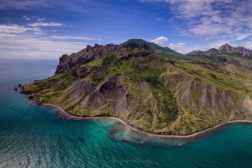 Green Island Of Karadag
