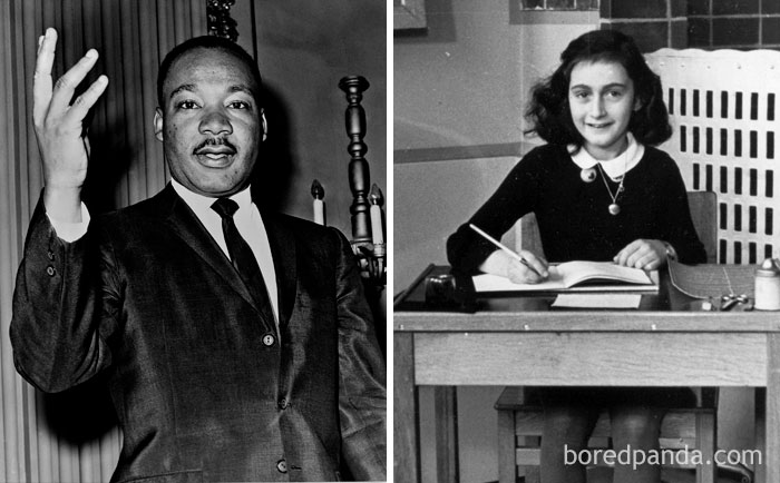 Anne Frank And Martin Luther King Junior Were Born In The Same Year 1929