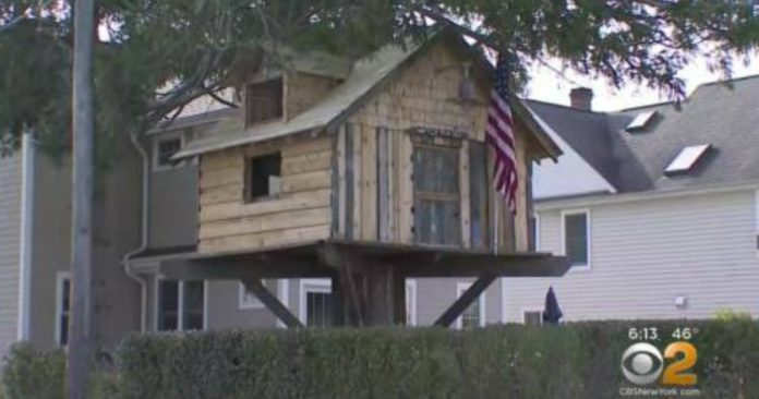 A Family Is Fighting Town Officials To Save Their Kids' Tree House