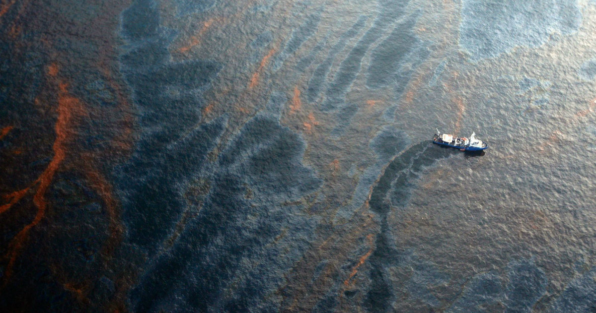 The 14-Year-Long Oil Spill in the Gulf of Mexico No One Has Ever