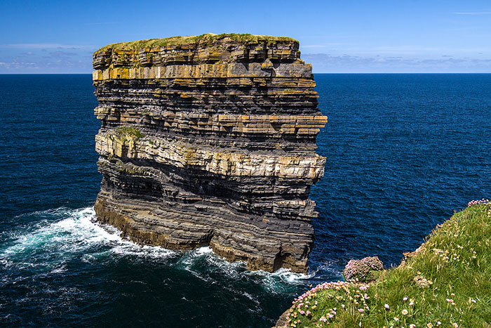 Dun Briste Sea Stack, Downpatrick Head, Co. Mayo, Ireland