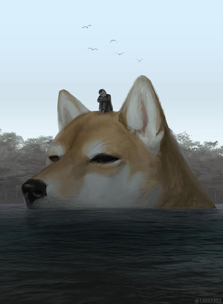 brushwood dog