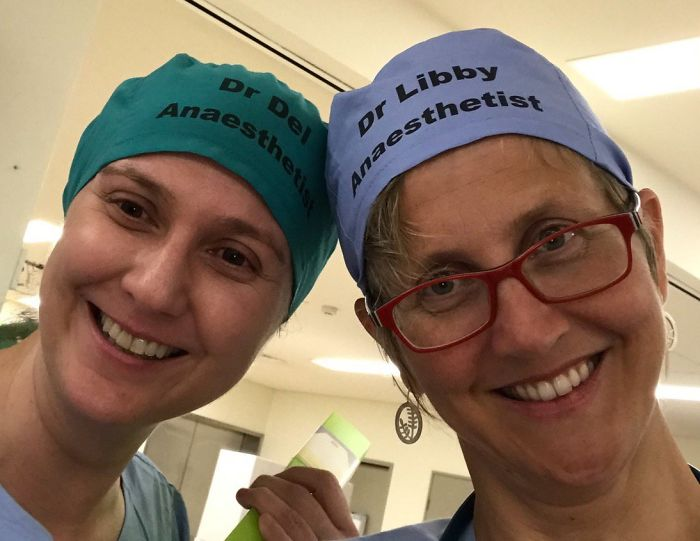 two lady doctors