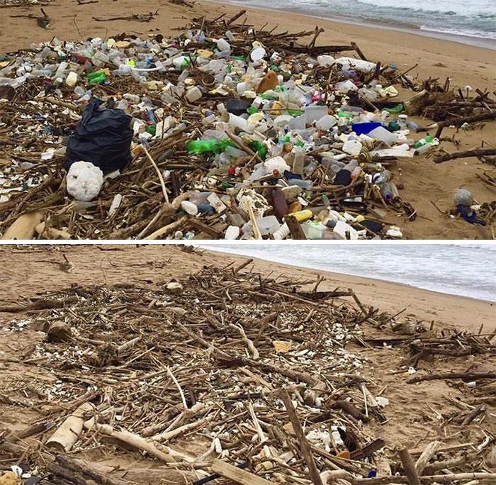 pile of plastic