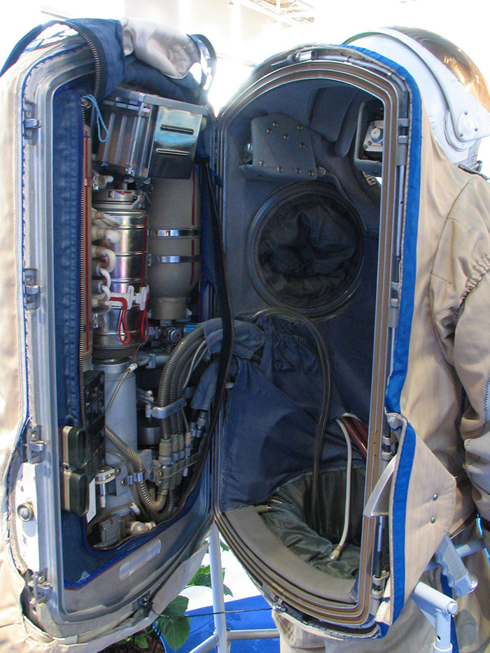 Inside Of A Space Suit