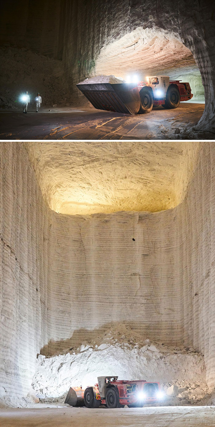 What A Salt Mine Looks Like From The Inside