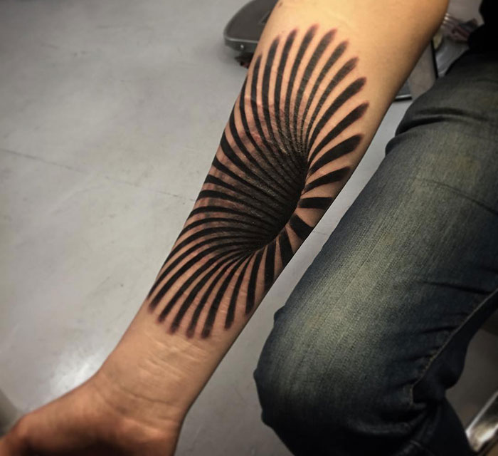arm 3d tattoo
