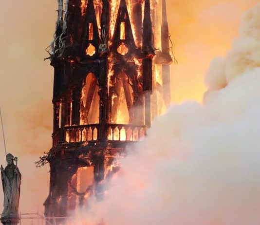 Paris's Notre Dame cathedral 'saved' after massive fire