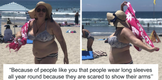 Men Made Fun Of This Woman For Wearing A Bikini, But Instead of Covering Up, She Shut Them Down
