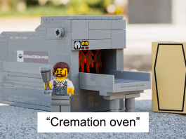 Lego Funeral Set Exists To Help Children Learn About Death