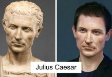 Here's What Julius Caesar And Others Would Look Like Today