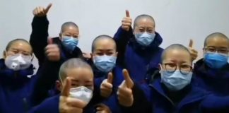 Chinese Nurses Are Shaving Their Heads To Prevent The Spread Of Coronavirus