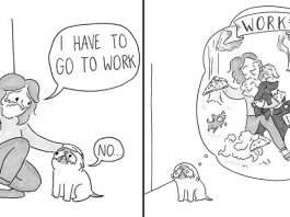 Cute Illustrations That Capture Funniest Moments Of Living With A Dog