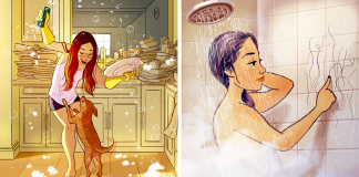 Illustrator Perfectly Captures The Happiness Of Living Alone In 37 Illustrations