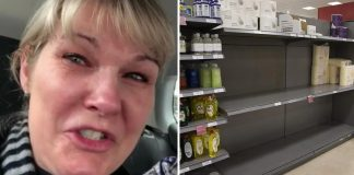Nurse posts emotional video after finding empty grocery store shelves following 48-hour shift