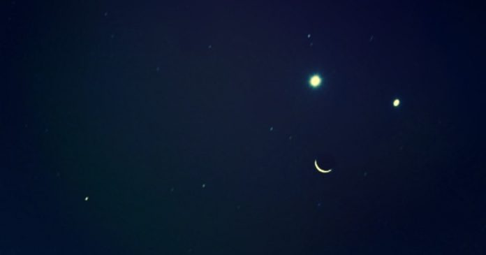 Get Ready To See A Smiley Face In The Sky, When The Moon, Venus, And Jupiter Align