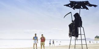 Grim Reaper in Florida Beaches