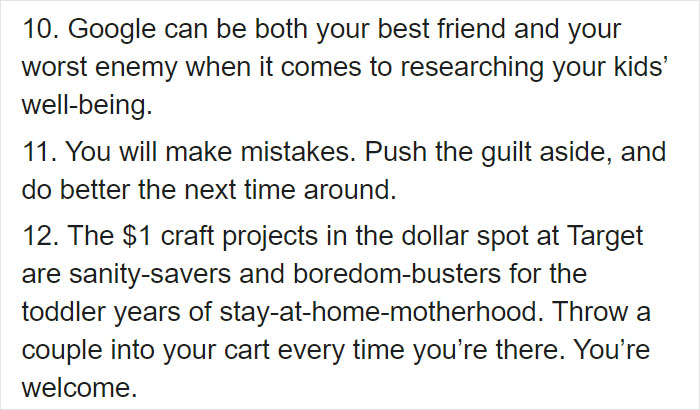 Mom Lists 27 Things That Are Great Advice For First-Time-Moms