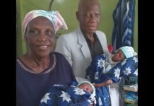 Nigerian Woman Aged 68 Gives Birth To Miracle Twins