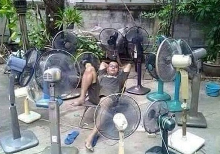 Too many fans