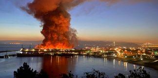 Massive Fire Destroys San Francisco Warehouse Pier 45