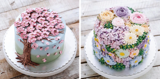 Celebrate The Return Of Spring With Blooming Flower Cakes