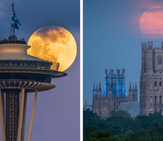 20 Stunning Photos Of The Last Supermoon Of 2020 Caught On Camera