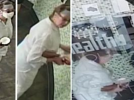 Cops Seek Public Help To Catch Old Woman Coughing On A Baby